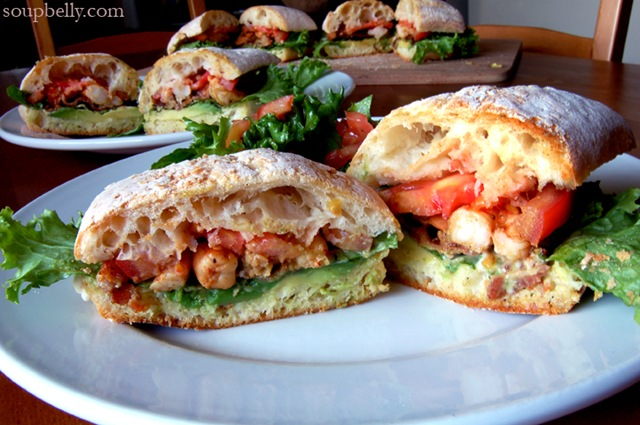 ... is, a Bacon, Lettuce, Avocado, Shrimp and Tomato sandwich. | Soupbelly