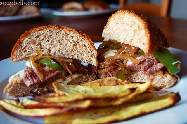 Jack@$$ Sandwich.