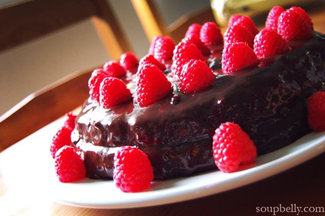 Cacaoweb Chocolate Cake
