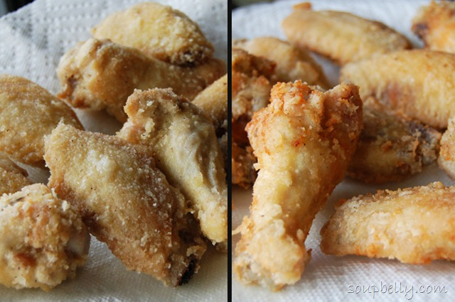 Crispy fried chicken recipe with cornstarch