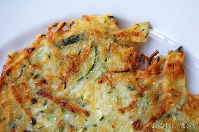 Zucchini Pancakes (Hobakjeon)