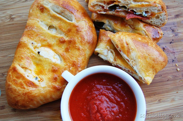 Calzones. | Soupbelly