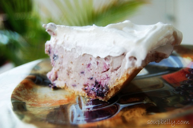 No-Bake Blueberry Cheesecake. | Soupbelly