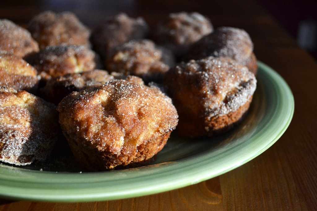 Apple Muffin Doughnuts
