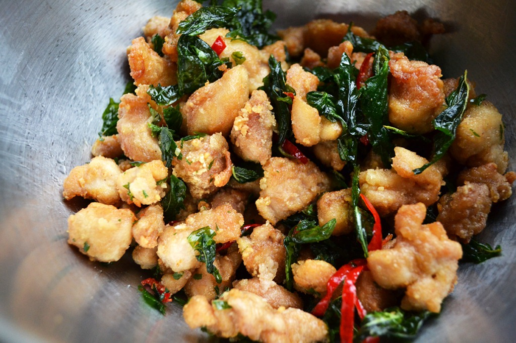 Popcorn Chicken with Basil and Sage | Soupbelly